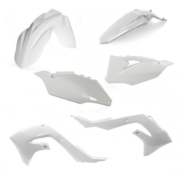Acerbis Plastik Kit KXF 450 19 Weiß