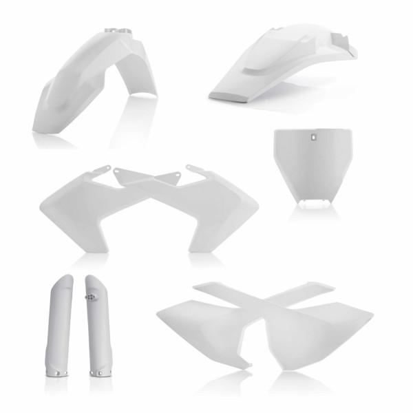Acerbis Full Plastik Kit TC/FC 16-18 (NO TC 250 16) Weiß