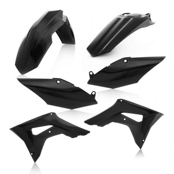Acerbis Plastik Kit CRF 250-450 19 Schwarz