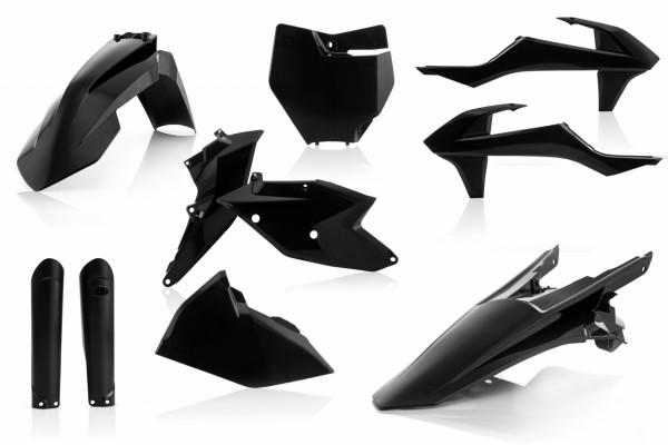 Acerbis Full Plastik Kit SX/SXF 16-18 Schwarz
