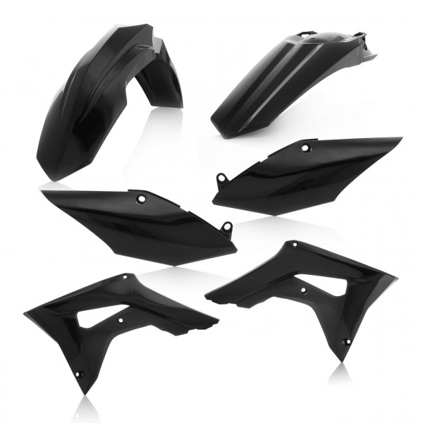 Acerbis Plastik Kit CRF 250 19 Schwarz