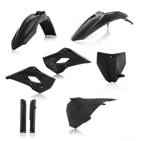Acerbis Full Plastik Kit TC 85 14-17 Schwarz