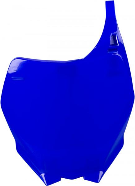 Polisport Startnummerntafel vorne blau 98