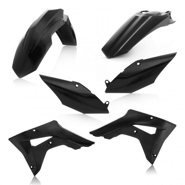 Acerbis Plastik Kit CRF 450 RX 17-18 Schwarz