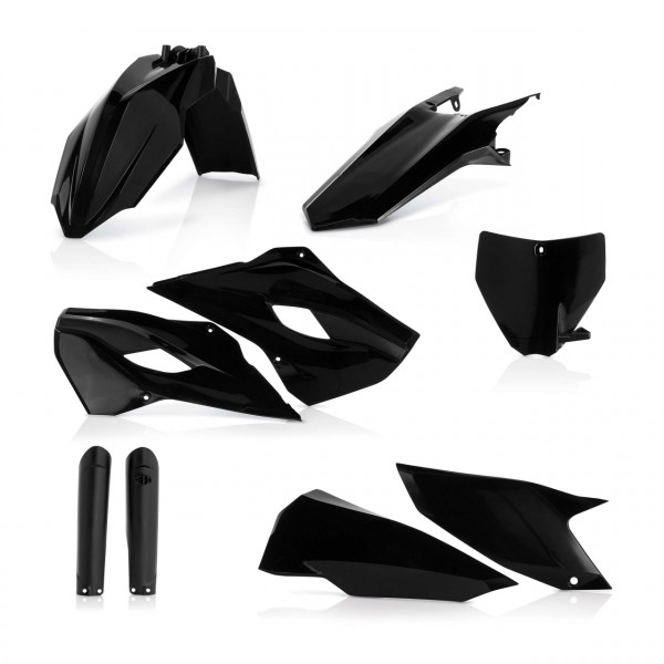 Acerbis Full Plastik Kit TC 250 16 Schwarz
