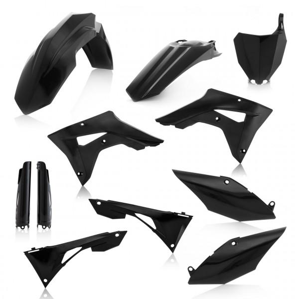 Acerbis Full Plastik Kit CRF 250X + CRF 450X 19 Schwarz
