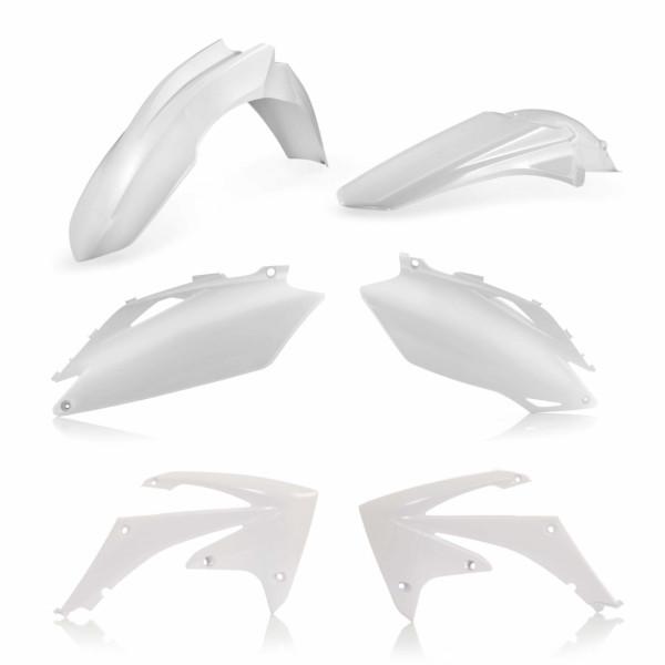 Acerbis Plastik Kit CRF 250 10 + CRF 450 09-10 Weiß