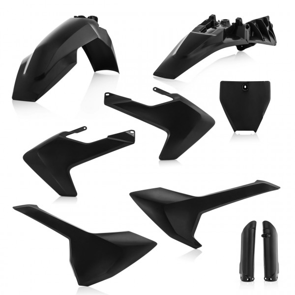 Acerbis Full Plastik Kit TC 85 18-19 Schwarz