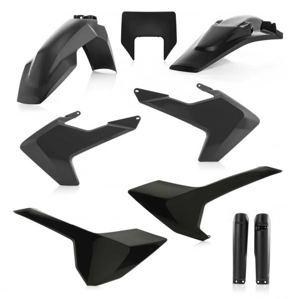 Acerbis Full Plastik Kit TE/FE 17-19 Schwarz