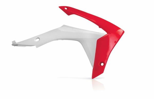 Acerbis Kühlerverkleidung CRF 450 13-16 + 250 14-17 Rot Weiß