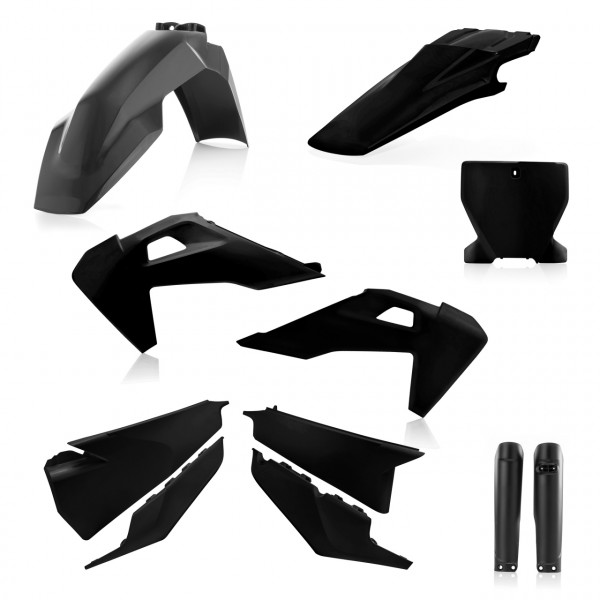 Acerbis Full Plastik Kit TC/FC 19 Schwarz
