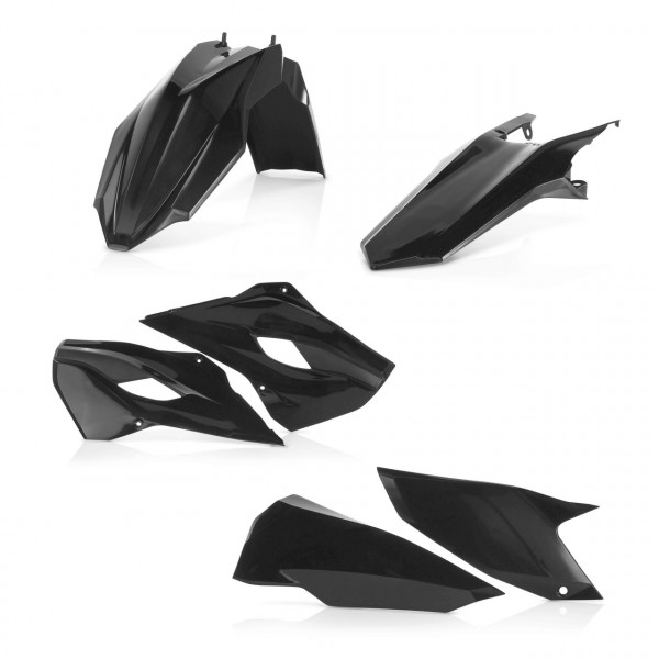 Acerbis Plastik Kit TE/FE 14 Schwarz