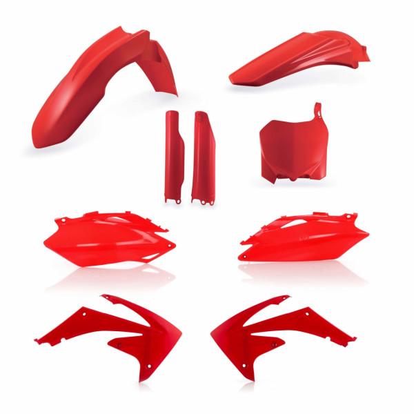 Acerbis Full Plastik Kit CRF 250 10 + CRF 450 09-10 Rot