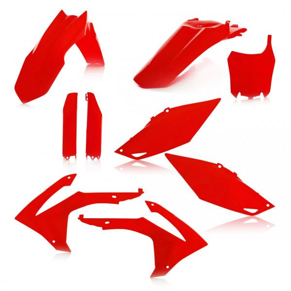 Acerbis Full Plastik Kit CRF 250 14-17 + CRF 450 13-16 Rot