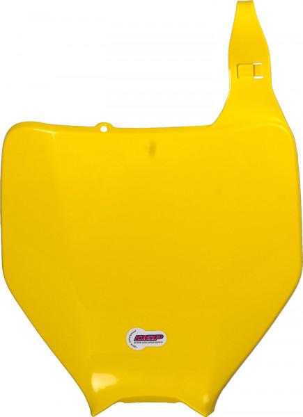 Polisport Startnummerntafel vorne gelb 01