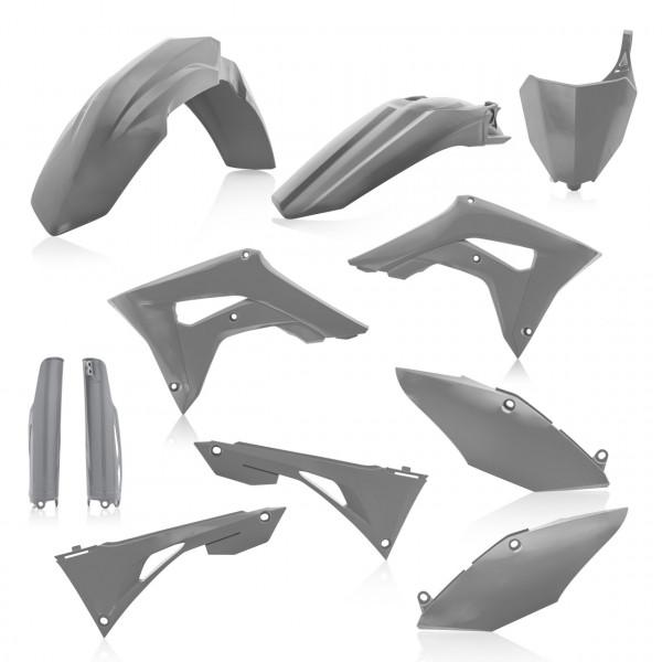 Acerbis Full Plastik Kit CRF 450 + CRF 250 19 Grau