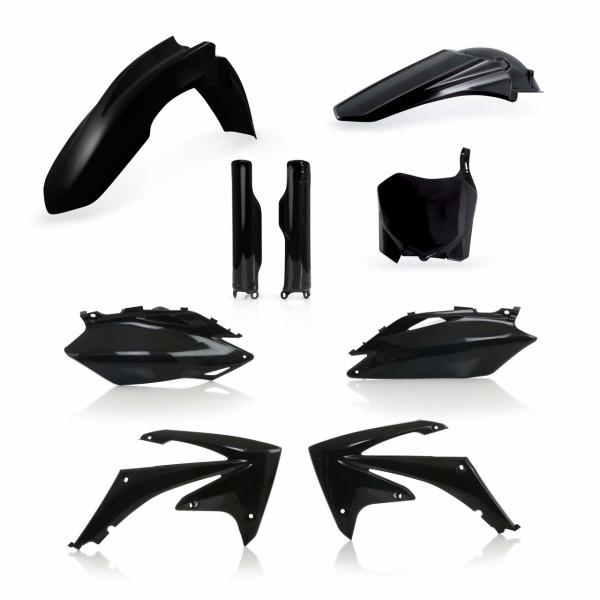 Acerbis Full Plastik Kit CRF 250 10 + CRF 450 09-10 Schwarz
