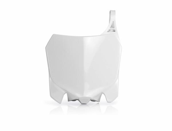 Acerbis Nummerntafel Front CRF 450 13-16 + 250 14-17 Weiß
