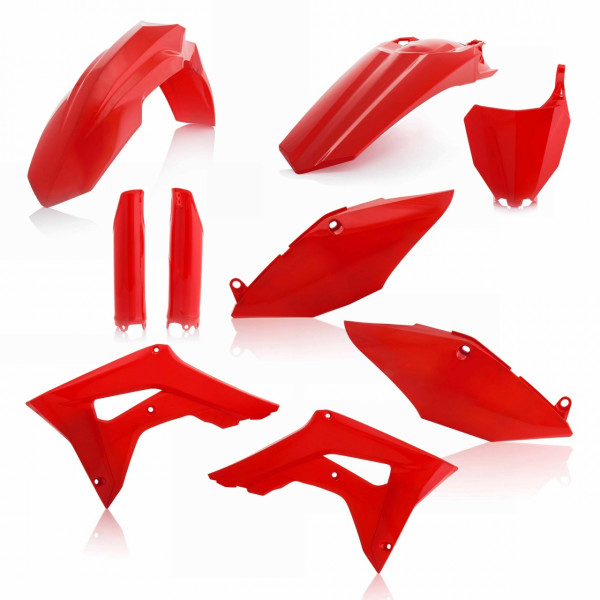 Acerbis Full Plastik Kit CRF 450 17-18 + CRF 250 18 Rot