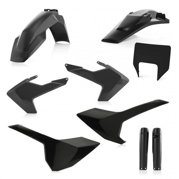 Acerbis Full Plastik Kit TE-FE 17-19 Schwarz