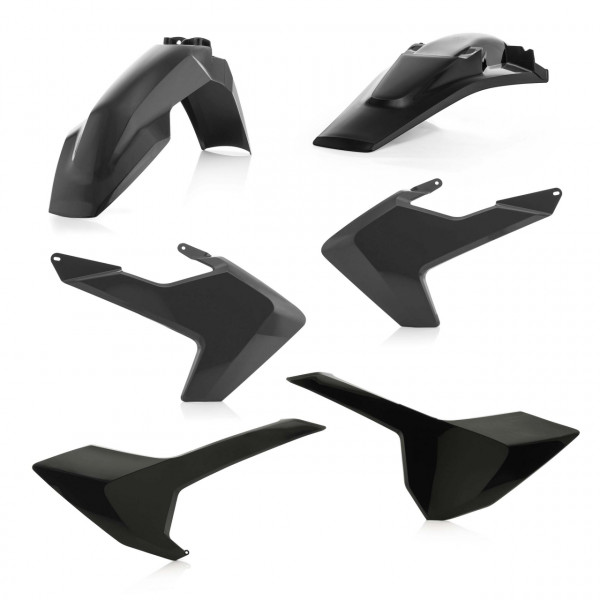 Acerbis Plastik Kit TE-FE 17-19 Schwarz