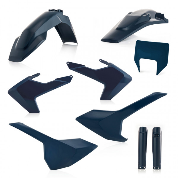 Acerbis Full Plastik Kit TE-FE 17-19 Blau