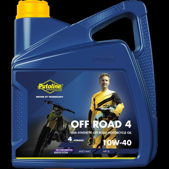 Putoline OFF ROAD 4 10W-40 4 L