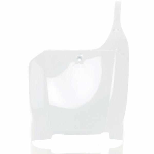 Acerbis Nummerntafel Front CR 125/250 00-03 Weiß