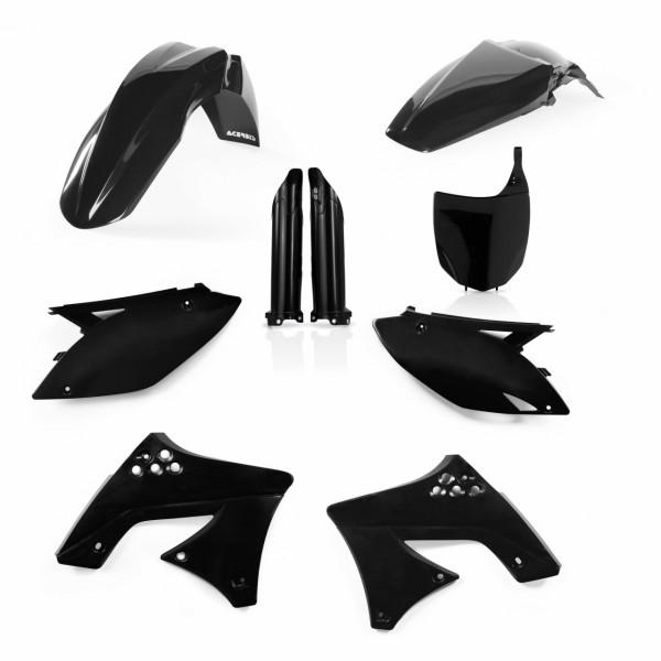 Acerbis Full Plastik Kit KXF 250 09-13 Schwarz
