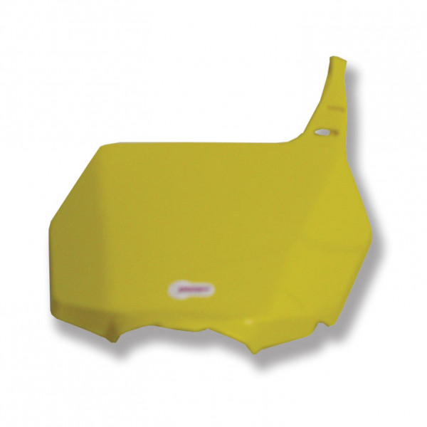 Polisport Startnummerntafel vorne gelb