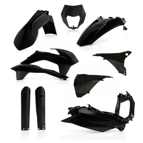 Acerbis Full Plastik Kit EXC/EXC-F 16 Schwarz