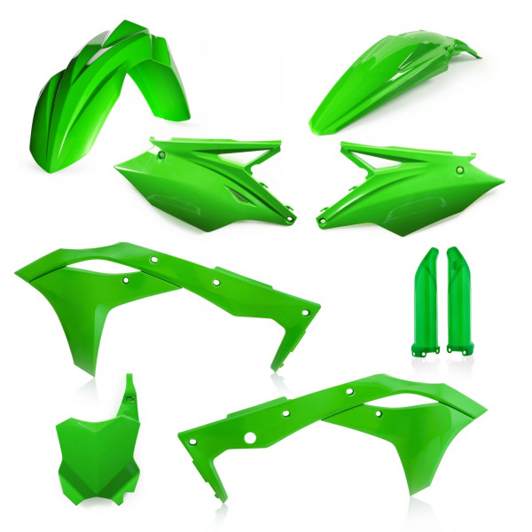 Acerbis Full Plastik Kit KXF 250 18-19 Grün