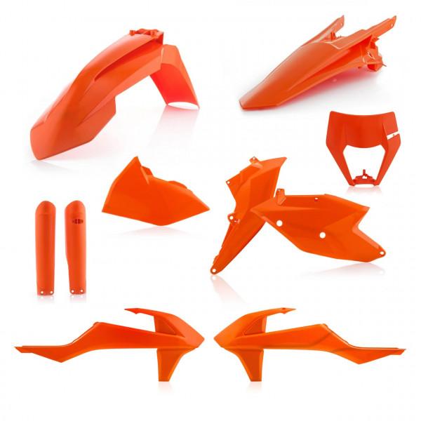 Acerbis Full Plastik Kit EXC/EXC-F 17-19 Orange 16