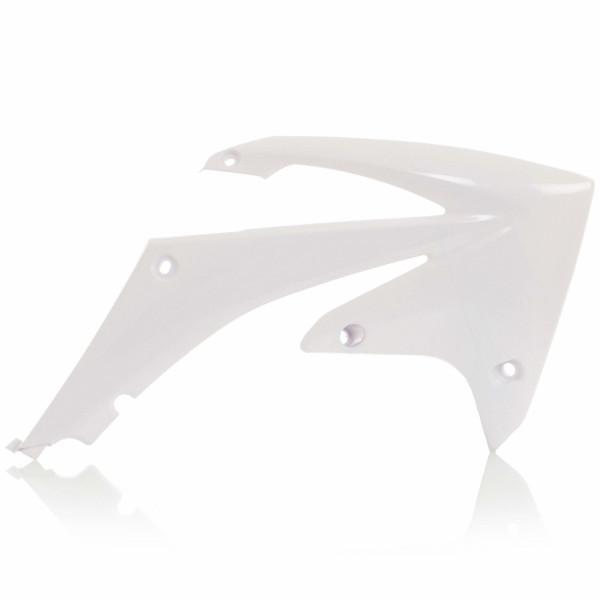 Acerbis Kühlerverkleidung CRF 250 10-13 + CRF 450 09-12 Weiß