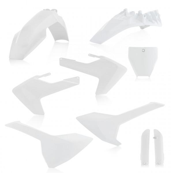 Acerbis Full Plastik Kit TC 85 18-19 Weiß