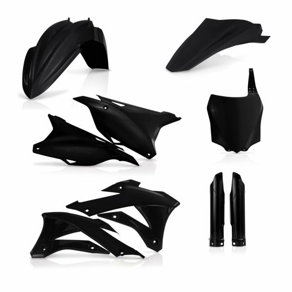 Acerbis Full Plastik Kit KX 85/100 14-19 Schwarz