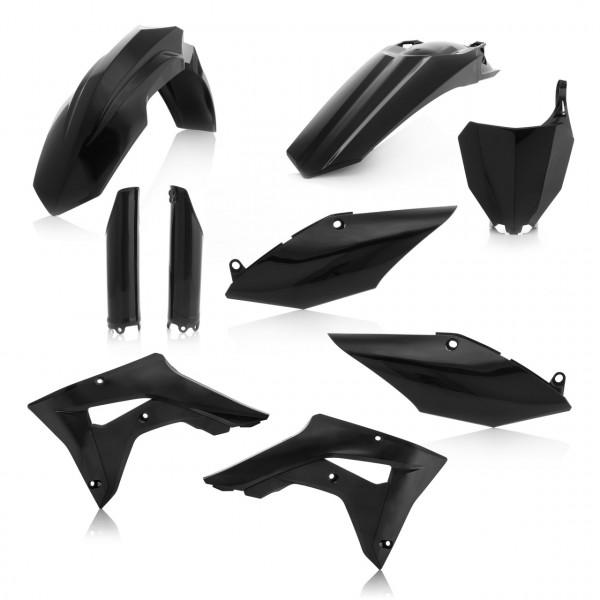 Acerbis Full Plastik Kit CRF 450X 17-19 Schwarz
