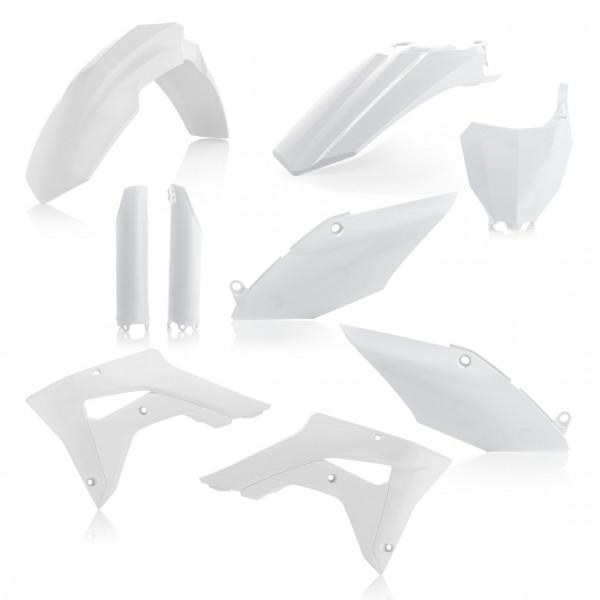 Acerbis Full Plastik Kit CRF 450X 17-19 Weiß
