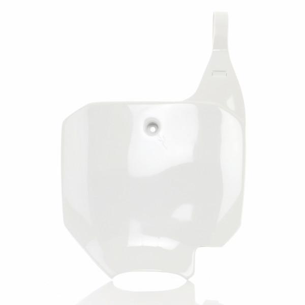 Acerbis Nummerntafel Front CR 80 96-02 Weiß
