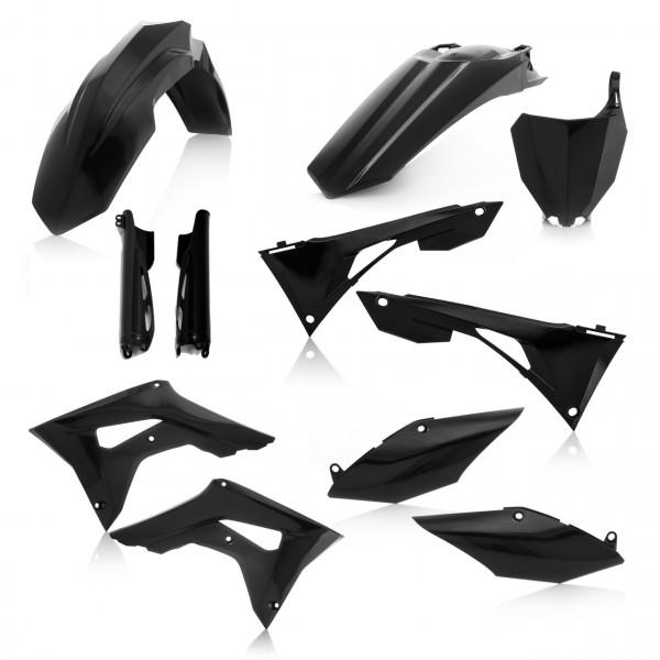 Acerbis Full Plastik Kit CRF 250 19 7 Schwarz