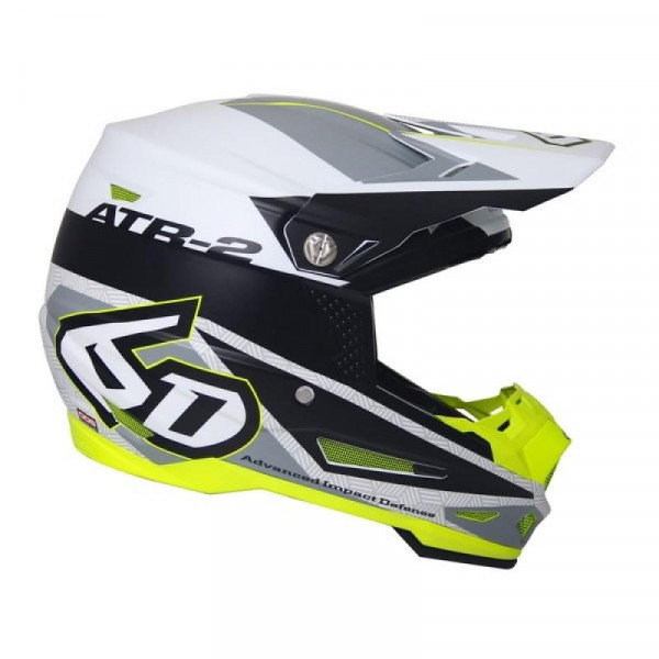 6D Helm ATR-2 Metric White