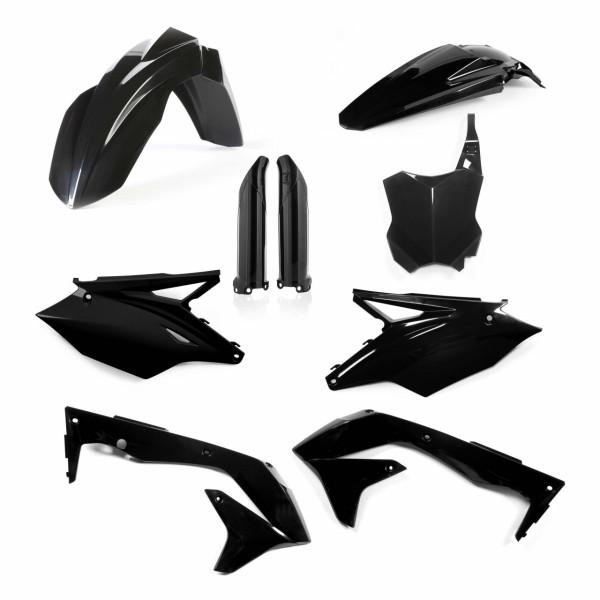 Acerbis Full Plastik Kit KXF 450 16-17 Schwarz