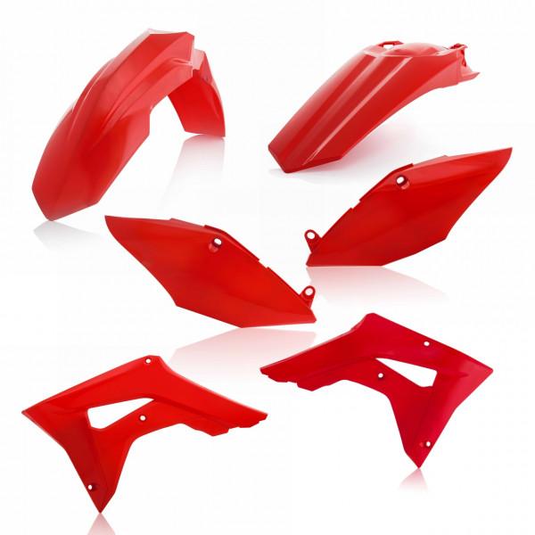 Acerbis Plastik Kit CRF 250X + CRF 450X 19 Rot