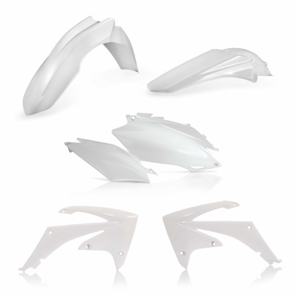 Acerbis Plastik Kit CRF 250 11-13 + CRF 450 11-12 Weiß