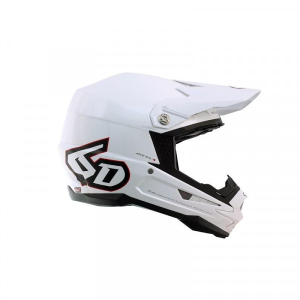 6D Helm ATR-1 Gloss White