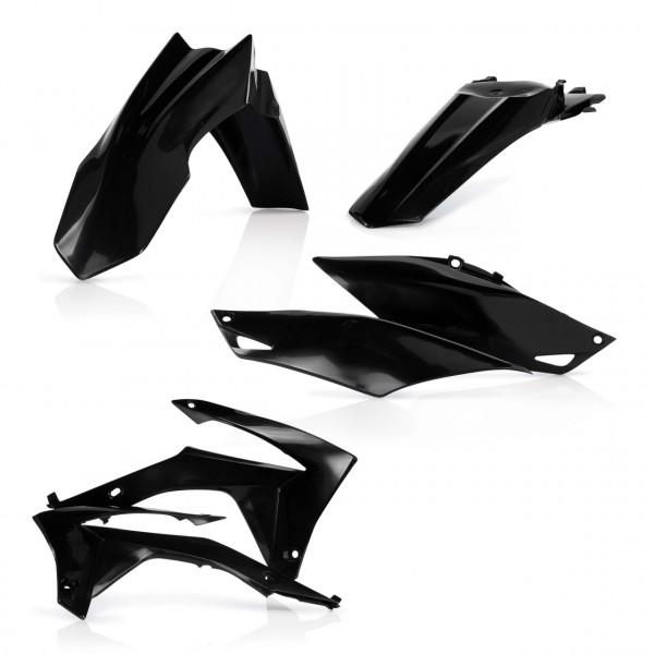 Acerbis Plastik Kit CRF 250 14-17 + CRF 450 13-16 Schwarz