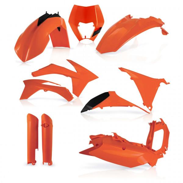 Acerbis Full Plastik Kit EXC/EXCF 12-13 Orange