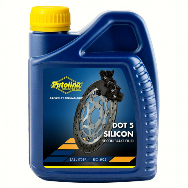 Putoline Bremsflüssigkeit DOT Silicon 5.0 500 ml