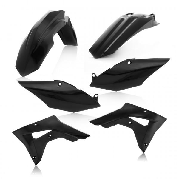 Acerbis Plastik Kit CRF 250X + CRF 450X 19 Schwarz