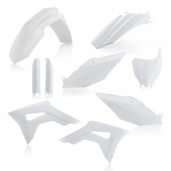 Acerbis Full Plastik Kit CRF 450 17-18 + CRF 250 18 Weiß